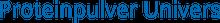 Proteinpulver Univers Logo